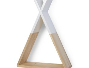 Ράφι Τοίχου ChildHome Tipi Natural White 71420